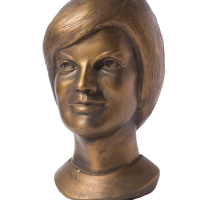 Bust of Jackie Kennedy