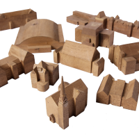 Hand-made Master Plan Buildings