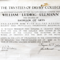 Lud Ullman's Diploma (Soviet Spy)